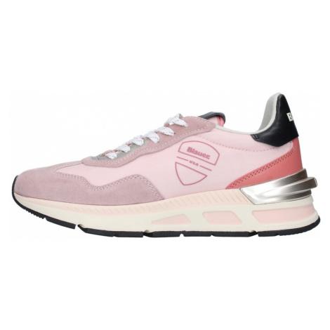 Blauer, Sneakers S1Hilesxl02/Nes Różowy, female, rozmiary: