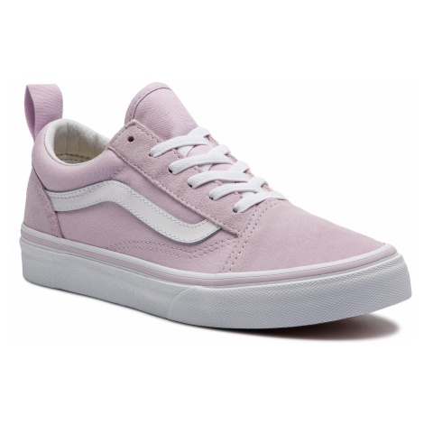 Tenisówki VANS - Old Skool Elastic VN0A3QPGUJM1 Lavender Fog/True White