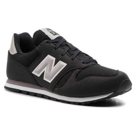 Sneakersy NEW BALANCE - YC373BG Czarny
