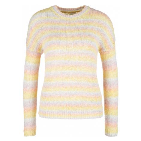 Q/S designed by Sweter pomarańczowy / żółty