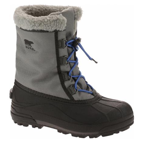 buty dziecięce Sorel Cumberland - Quarry/Shark