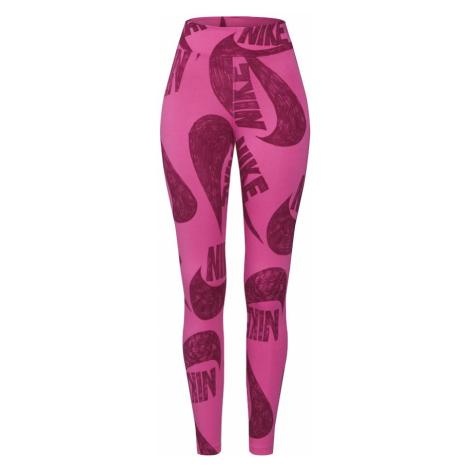 Nike Sportswear Legginsy różowy
