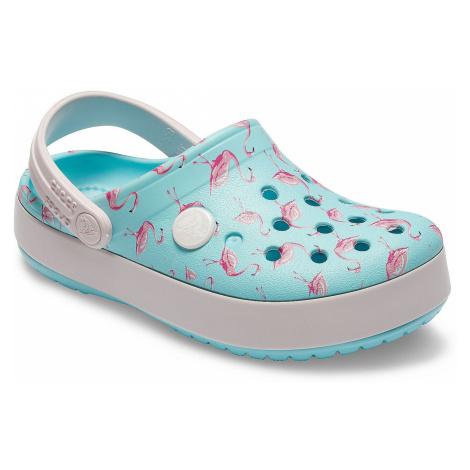 buty Crocs Crocband Seasonal Graphic Clog - Ice Blue/Pink