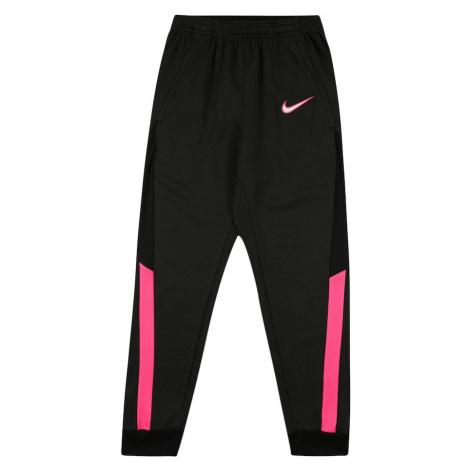 NIKE Spodnie sportowe 'Academy' różowy / antracytowy