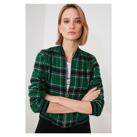 Trendyol Green Zip Jacket