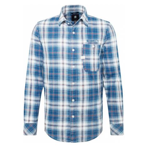 G-STAR RAW Koszula niebieski / biały