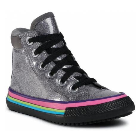 Converse Sneakersy Ctas Pc Boot Hi 668481C Srebrny