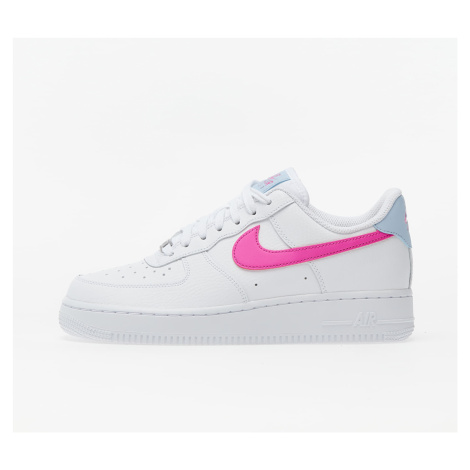 Nike Wmns Air Force 1 '07 White/ Fire Pink-Hydrogen Blue