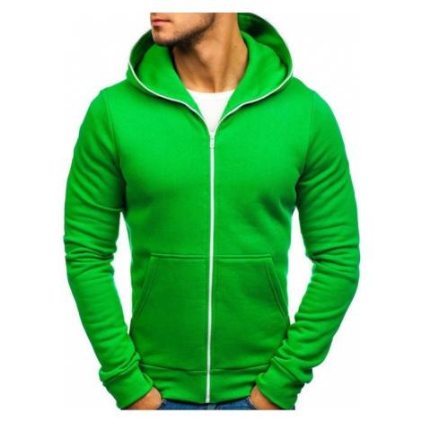 Bluza męska z kapturem zielona Denley TOMMY