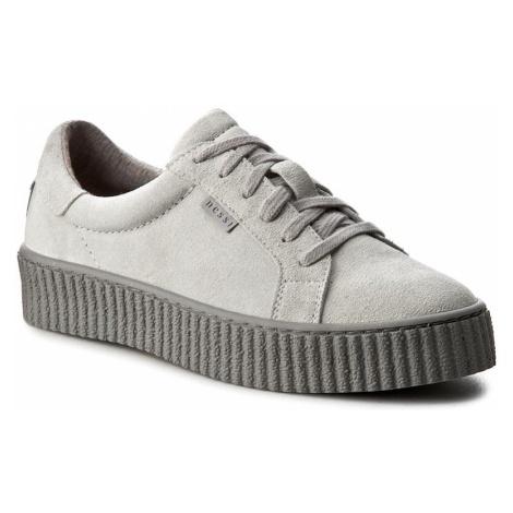 Sneakersy NESSI - 17111 Szary W4