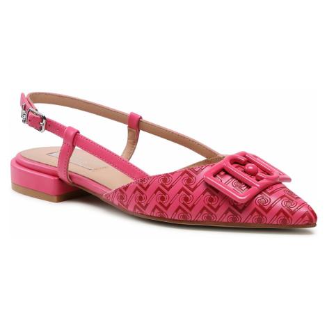 Sandały LIU JO - Viola 4 SA1067 EX098 Pink/Red S1641