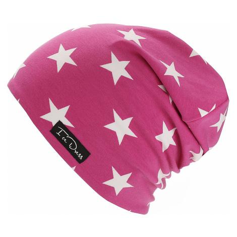 czapka IceDress Stars I - Pink/White