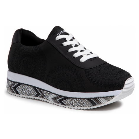 Sneakersy DESIGUAL - Indian Mandala 21SSKP19 2000