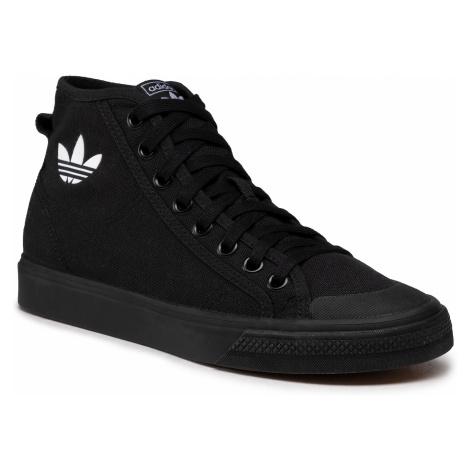 Buty adidas - Nizza Hi B41651 Cblack/Cblack/Ftwwht