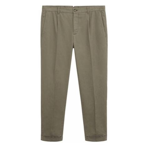 MANGO MAN Spodnie 'vibes' khaki