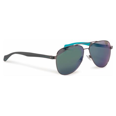 Okulary przeciwsłoneczne BOSS - 1077/S Dkruth Black V81 Hugo Boss