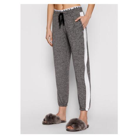 DKNY Spodnie piżamowe YI2722471 Szary Regular Fit