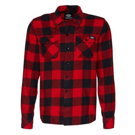 DICKIES Koszula 'Sacramento' czerwony / czarny