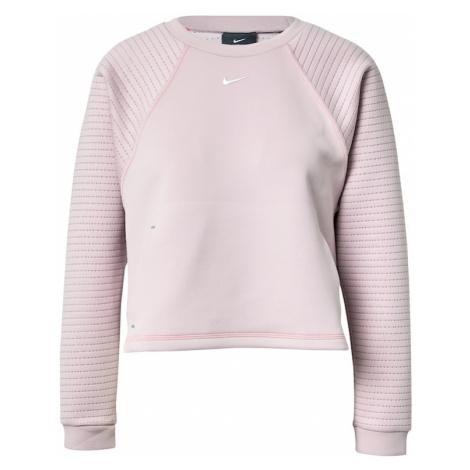 NIKE Bluzka sportowa różowy pudrowy