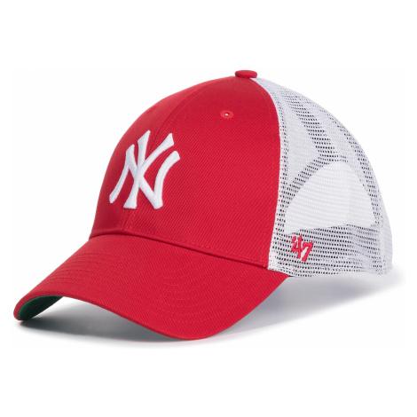 Czapka z daszkiem 47 BRAND - New York Yankees B-BRANS17CTP-RD Red