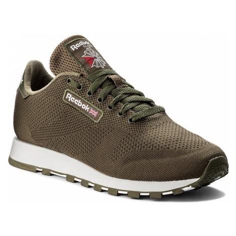 Buty Reebok - Cl Leather Ultk CM9878 Army Green/White