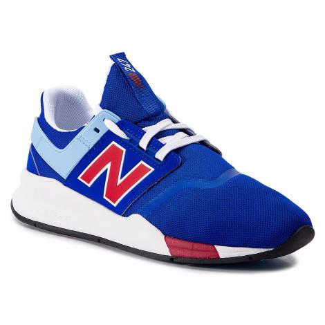 Sneakersy NEW BALANCE - MS247FM Granatowy