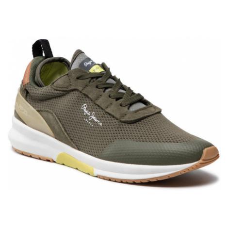 Pepe Jeans Sneakersy N°22 M PMS30593 Zielony