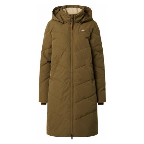 Ragwear Płaszcz zimowy 'Rebelka' oliwkowy