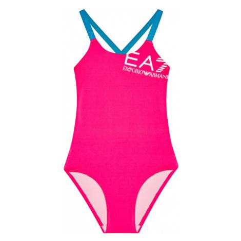 EA7 Emporio Armani Strój kąpielowy 913005 1P453 02773 Różowy