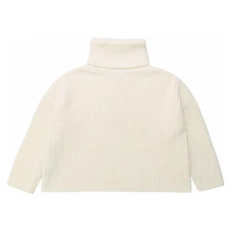 DKNY Sweter D35Q38 D Biały Oversize