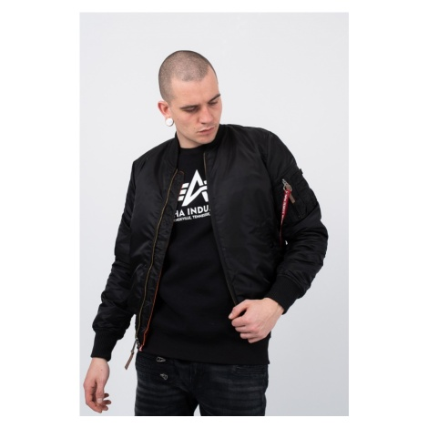 "Kurtka męska Alpha Industries MA-1 TT ""Black"" 191103 03"