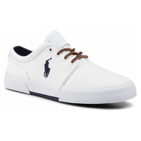 Sneakersy POLO RALPH LAUREN - Faxon Low 816507896015 Pure White