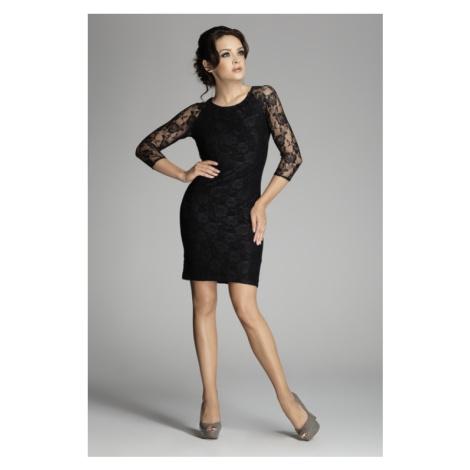 Sukienka damska M076 black Figl