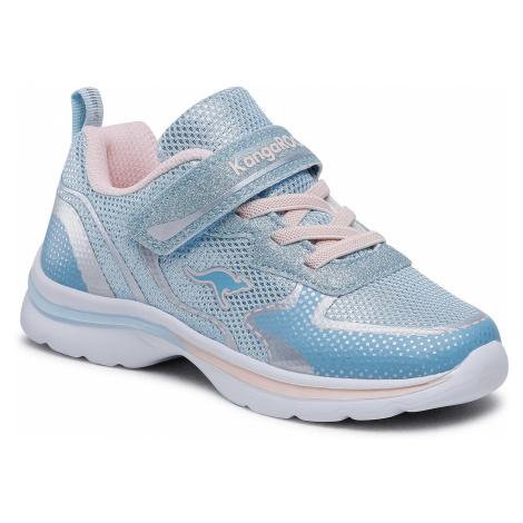 Sneakersy KANGAROOS - KangaGlozzy Ev 18704 000 4268 Blue Sky/Frost Pink