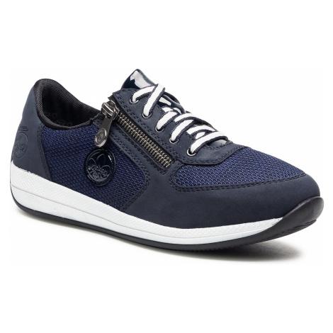 Sneakersy RIEKER - N1111-14 Blau