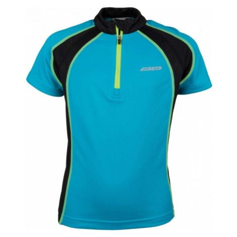 Arcore DANIEL 140 - 170 niebieski 140-146 - Koszulka rowerowa dziecięca