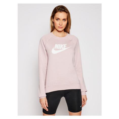 Nike Bluza Essentials Crew BV4112 Różowy Standard Fit
