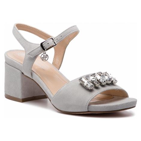 Sandały SOLO FEMME - 33707-01-G15/000-07-00 Jasny Szary