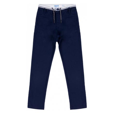 Mayoral Spodnie materiałowe 3513 Granatowy Slim Fit