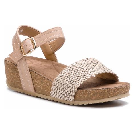 Sandały REFRESH - 69740 Combinado Beige