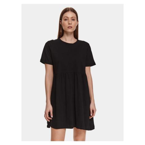 TOP SECRET czarny luźna sukienka