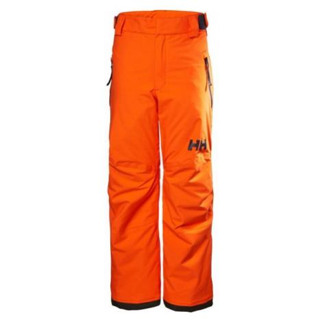 Helly Hansen JR LEGENDARY PANT pomarańczowy 8 - Spodnie narciarskie dziecięce