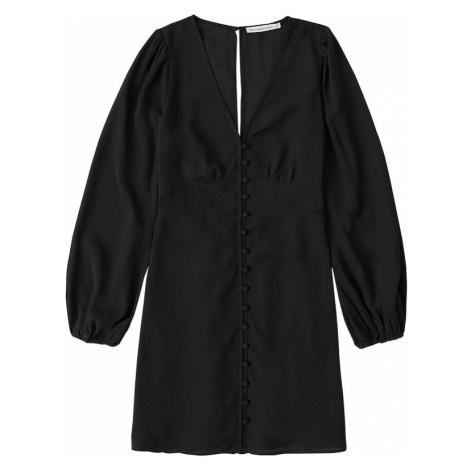 Abercrombie & Fitch Sukienka koszulowa czarny