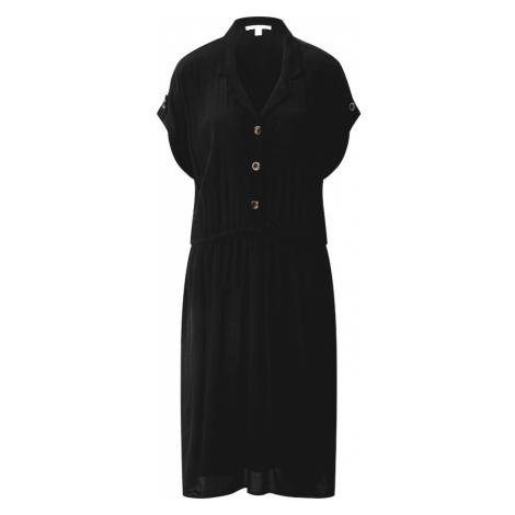 ESPRIT Sukienka koszulowa czarny