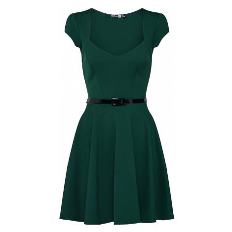 Boohoo Sukienka 'Lara' zielony