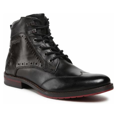 Szara męskie obuwie na zimę
