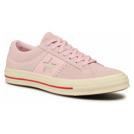 Tenisówki CONVERSE - One Star Ox 163194C Pink Foam/Enamel Red/Egret