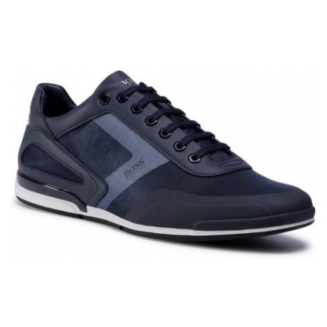 Boss Sneakersy Saturn 50439553 10225762 01 Granatowy Hugo Boss