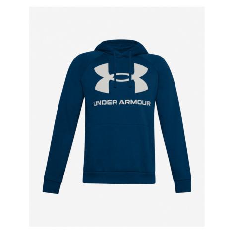 Under Armour Rival Fleece Big Logo Bluza Niebieski