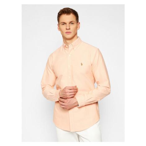 Polo Ralph Lauren Koszula Classic Oxford 710795462008 Pomarańczowy Custom Fit